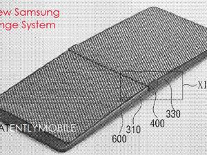 Samsung's foldable smartphone pops up in new patent