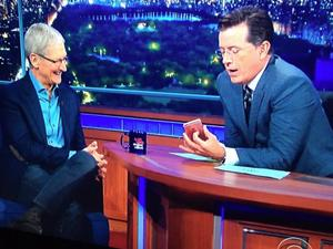 "Tim Cook deflects Apple Car questions in ""Late Show"" interview"