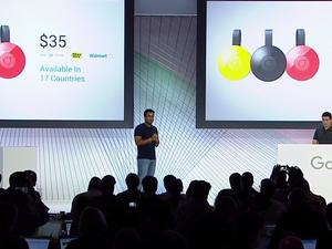 New Chromecast launches today for $35 in 17 countries