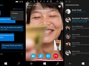 Skype tightly integrated into Windows 10 Mobile in latest beta