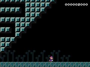 Explore Waluigi's darkness in this awesomely weird Mario Maker level
