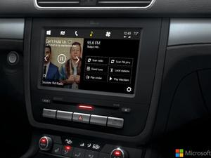 Microsoft adds Cortana to Windows in the car concept