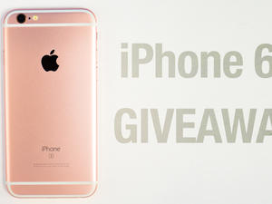 Unlocked 64GB iPhone 6s Giveaway!