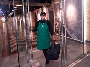 Starbucks launches Green Apron delivery service