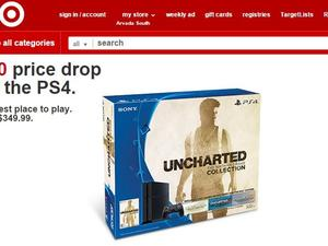 PlayStation 4 price cut leaked by Target?