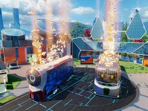 Black Ops III has a Nuketown bonus map, and it looks completely nuts