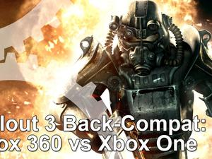 Fallout 3 actually works better on Xbox One than on Xbox 360