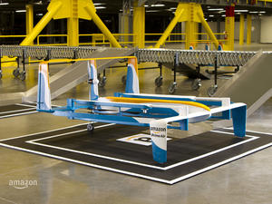 Amazon unveils an awesome new delivery drone
