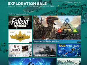 The Steam fall sale for 2015 is now live! Flash Deals and Daily Sales are gone