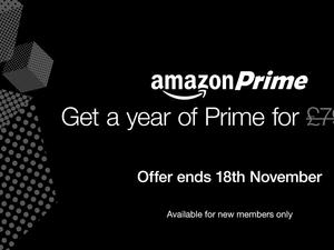 Amazon Prime reduced to just £59 in the U.K. for a limited time
