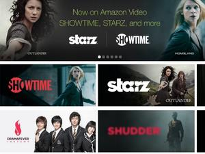 Amazon Prime gets Showtime, Starz and other subscription options