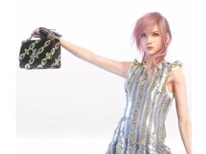 Final Fantasy teams up with Louis Vuitton to make Lightning purse commercials