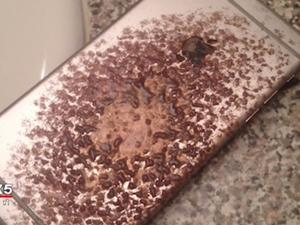 """iPhone 6 Plus catches fire in man's bed: """"There were sparks and flames"""""""
