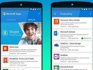 Microsoft's latest Android app helps you find its other Android apps