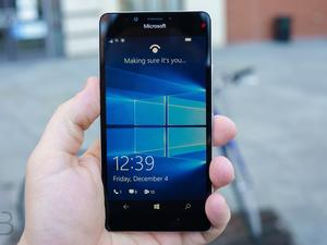 Windows 10 Mobile to finally support fingerprint scanners