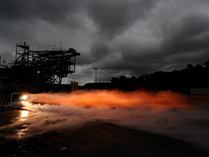 NASA's 3-D printed rocket engine produces 20,000 pounds of thrust