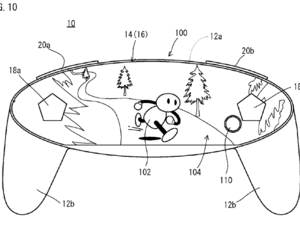 Nintendo patents a possible NX controller, will have a screen on it
