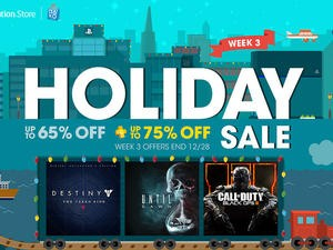 PlayStation Holiday Sale enters its third week