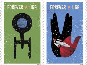 Star Trek stamps prove that mail doesn't have to be boring