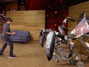 HoloLens begins shipping out to developers today