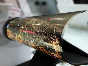 LG's new foldable display is mind-bendingly flexible