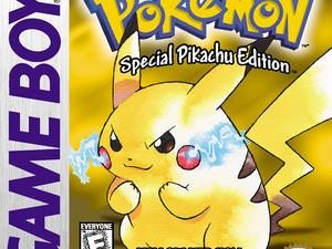 Here's 10 minutes of Pokémon Yellow running on the 3DS