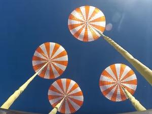 SpaceX tests new Crew Dragon parachutes to gently bring crew back to Earth