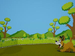 Duck Hunt remade in Virtual Reality, complete with a hub world
