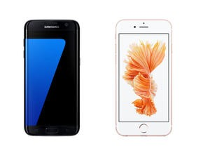 Samsung Galaxy S7 Edge vs Apple iPhone 6s Plus spec shootout