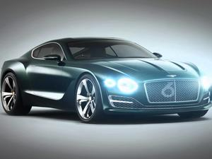 Bentley to build electric car, may borrow from EXP 10 Speed 6 concept