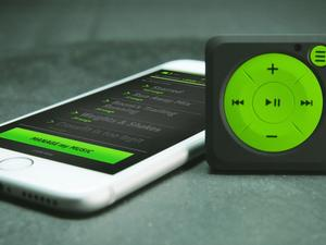 Mighty Audio is an iPod Shuffle for your Spotify account