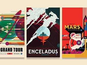 NASA: Check out these gorgeous space tourism posters