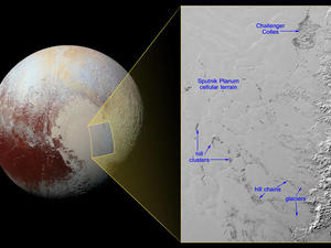 """NASA discovers """"floating hills"""" on Pluto"""