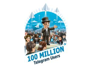 Telegram now boasts 100m active users, sends 15b messages a day