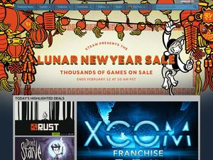 Steam is hosting a surprise Lunar New Year sale