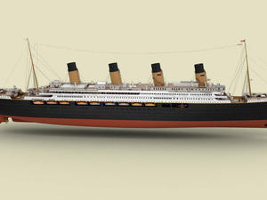 Titanic II with modern upgrades will sail in 2018