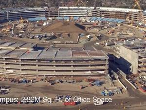Apple's spaceship campus looks nearly finished in latest drone video