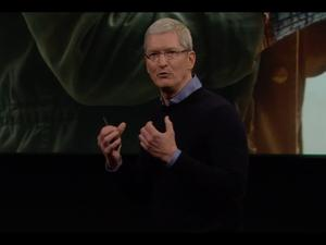 "Apple's Tim Cook: ""We're going to give you things you can't live without"""