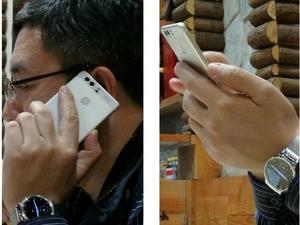 Huawei P9 pictured in the wild with dual rear-facing cameras
