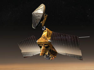 Mars orbiter celebrates 10 years of exceptional science