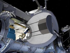 NASA is going to attach an inflatable room to the International Space Station