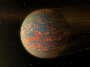 This super-Earth is hot with a side of hotter