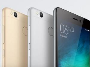 Xiaomi's Redmi 3 Pro packs a fingerprint scanner for under $150