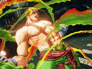 Here's Street Fighter V's first DLC character, Alex