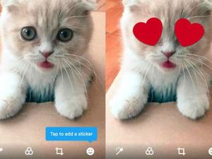 Twitter Stickers could liven up your photos