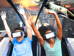 Six Flags taps Samsung for new VR roller coasters - First one opens this month!