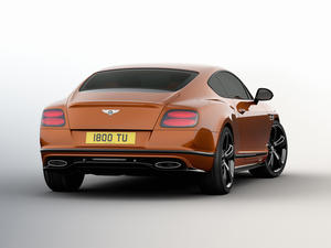 Bentley Continental GT Speed is the fastest Bentley ever - Don't spill your champagne
