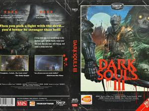 Dark Souls III has an amazing, 80s-style VHS cover you can now print for yourself
