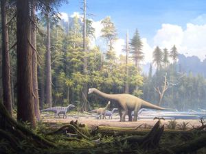 Dinosaurs left Europe in a humongosaurus migration, according to research