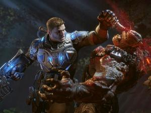 8 minutes of Gears of War 4 featuring new enemies and Old Marcus Fenix